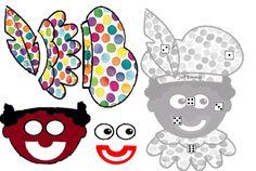 Begeleide of zelfstandige activiteit - Zwart Piet dobbelspel