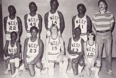 West High Freshmen Basketball 1983-84 | by bluwmongoose