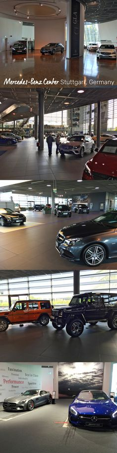 Mercedes-Benz Center, which is part of the Mercedes-Benz Museum in Stuttgart, Germany