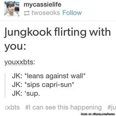 "i thought it was gonna be serious until i saw the ""sips capri sun"" part 