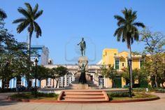 Main Square. Statue of Jose Marti. Matanzas, Cuba