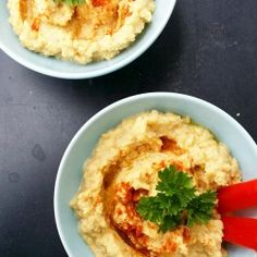 wegetariańskie spaghetti z soczewicą Ricotta, Hummus, Feta, Ethnic Recipes