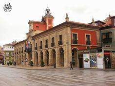 Ayuntamiento de #Aviles en #Asturias (#España).