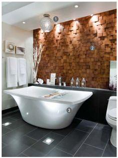 Textured Wood Wall