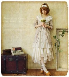 "Love this!!! They call this style ""Mori Girl"" in Japan, meaning ""Forest Girl"". Sort of a cross between Bohemian/Peasant/Lacey Feminine!"