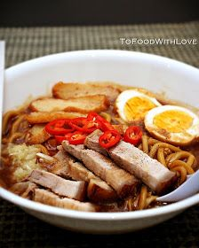 To Food with Love: Lor Mee (Braised Noodles)