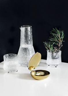 Ideas - Finnish Design Shop is a design shop specialized in Scandinavian, Finnish, Swedish and Danish design Brass Candle Holders, Scandinavian Home, Tea Light Holder, Danish Design, Glass Design, The Rock, Tea Lights, Cool Designs, Stockholm
