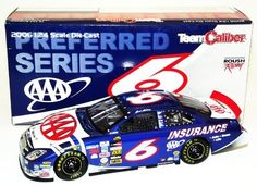 2006 Mark Martin #6 AAA Brickyard 400 1/24 Team Caliber Diecast SIGNED by Trackside Autographs. $139.95. This is an AUTOGRAPHED 2006 Mark Martin #6 AAA Brickyard 400 Car 1/24 Team Caliber Preferred Diecast. (1 of 5,004) This car has been SIGNED by Mark Martin in silver on the windshield.