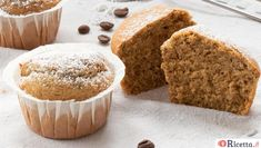 Ricetta Muffin al caffè - Consigli e Ingredienti | Ricetta.it Cooking Recipes, Healthy Recipes, Healthy Food, Biscotti, Sweet Cakes, Something Sweet, Muffins, Cheesecake, Food And Drink