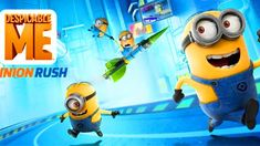 Gru's loyal, yellow, gibberish-speaking Minions are ready for their toughest challenge in Despicable Me: Minion Rush. Play as a Minion and compete with others in hilarious, fast-paced challenges in order to impress your boss, (former? Despicable Me Minion Rush, Minion Movie, Minion Party, My Minion, Minion Rush Game, Action Games For Kids, Google Play, Minion Cupcakes, Minion Banana
