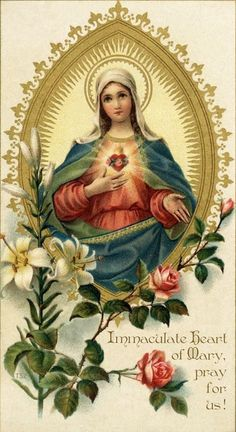 Novena for the Assumption of the Blessed Virgin Mary – Day 6 Religious Pictures, Religious Icons, Religious Art, Blessed Mother Mary, Blessed Virgin Mary, Virgin Mary Art, Catholic Prayers, Catholic Art, Roman Catholic