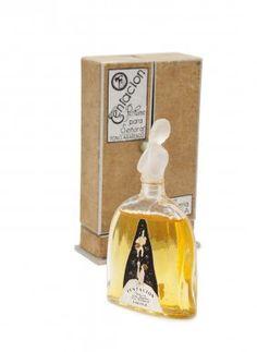 1920s Julien Viard Perfume Bottle For Parera
