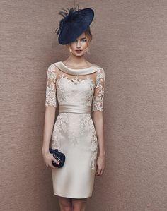 vestidos de novia cortos con pedreria - Buscar con Google