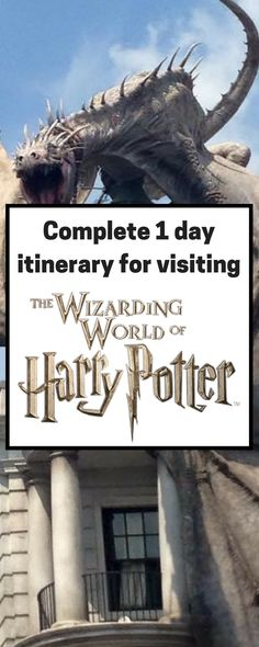 complete one day itinerary for The Wizarding World of Harry Potter Wizarding World of Harry Potter at Universal Studios Orlando Universal Studios Florida Universal Stud. Universal Orlando, Universal Studios Florida, Disney Universal Studios, Orlando Travel, Orlando Vacation, Orlando Resorts, Disney World Vacation, Orlando Florida, Destin Florida
