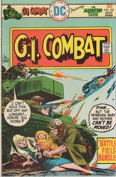 Dc Comic Books, Vintage Comic Books, Vintage Comics, Comic Book Covers, Comic Art, Vintage Toys, Creepy Comics, Western Comics, War Comics