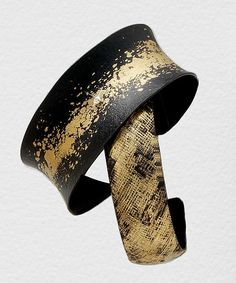 Crosshatch Cuff by Pat Flynn: Iron Bracelet available at www.artfulhome.com
