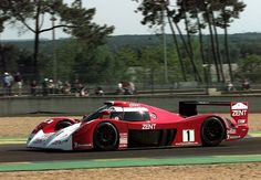 Toyota GT-1 at LeMans. A gorgeous race car.