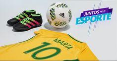 sua loja de tênis, chuteiras, camisas de futebol e artigos esportivos masculinos e femininos para todos esportes #ad