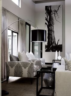 Love the colors, furniture and accents... Wish the room was larger though lol