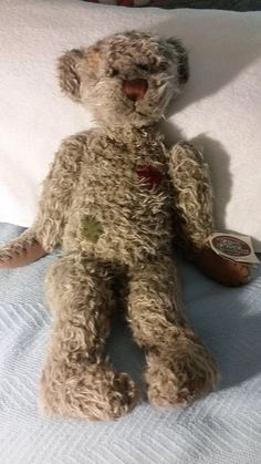 Cottage Collectibles 1999 Signed Twice By Lorraine Flopabout Teddy Ganz Teddy Teddy Bear Bear