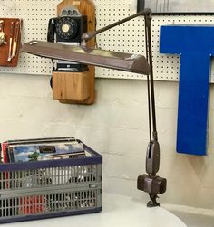 Vintage 60's Desk Lamp   Works   $87  Mid Century Dallas Booth #766  Lula B's in the OC! 1982 Ft. Worth Ave. Dallas, TX 75208
