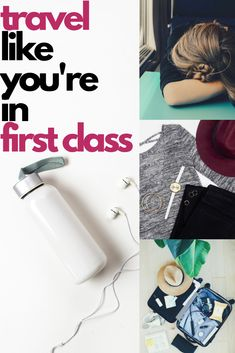 Want to make coach feel like first class? Is first class just out of your reach today or every day?Make coach feel like first with these tips and tricks Road Trip Packing, Packing List For Travel, Packing Tips, Budget Travel, Travel Tips, Travel Essentials, Travelling Tips, Travel Ideas, Europe Packing