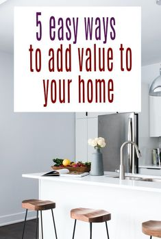 Simple effective and easy ways to add value to a home by looking at it's design and decor as well as use of accessories and planning your space well. Brilliant home hacks for your interior to increase the worth of your home #homehacks #homedesign #homemakeover #homeupdate #home #interiors Beautiful Space, Beautiful Homes, Planning Permission, House Extensions, Home Hacks, Simple House, First Home, Declutter, Design Trends