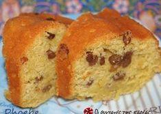 Κέικ με σιμιγδάλι Greek Desserts, Cookie Desserts, Greek Recipes, Sweet Loaf Recipe, Cake Cookies, Cupcake Cakes, Cup Cakes, My Favorite Food, Favorite Recipes