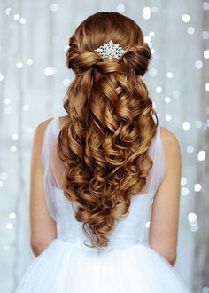 Wedding Hairstyles for Long Hair - A perfect hairstyle for the most beautiful day of your life is all you need. It can be a challenge with many for brides.