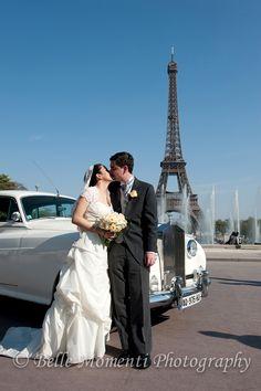 Great Paris Wedding photo.