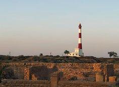 Ra's Thyna Light, Sfax, Tunisia  photo copyright Tore Kjeilen/LexicOrient; used by permission