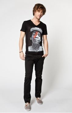 T-SHIRT ELEVEN PARIS WIZ KHALIFA TSMC BLACK