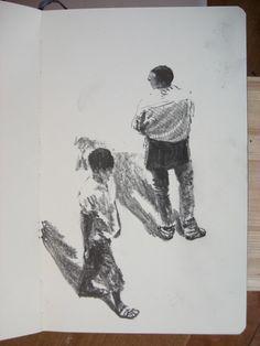 Moleskine 3 #139 graphite pencil drawing