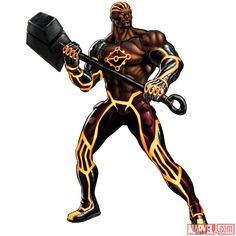 Luke Cage as Nul (alternate costume) #Marvel: Avengers Alliance