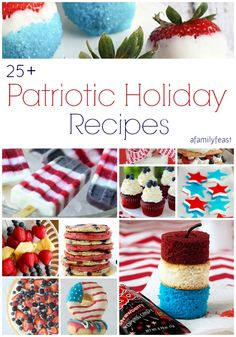 flag day menu ideas