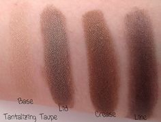 e.l.f. Flawless Eyeshadow in Tantalizing Taupe swatches