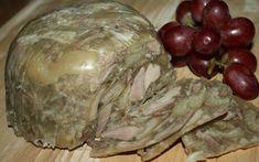 Polish Head Cheese Recipe Recipezazz - Old Fashioned Head Cheese Recipe Souse Meat Recipe, Cheese Recipes, Pork Recipes, Hog Head Cheese Recipe, Charcuterie, Poland Food, Gross Food, Ukrainian Recipes, Recipes