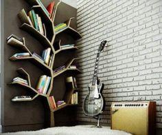 Κατασκευάστε μόνοι σας μια βιβλιοθήκη σε σχήμα δέντρου