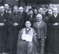 Leonard Cohen, aka Jikan The Monk At The Mount Baldy Zen Center