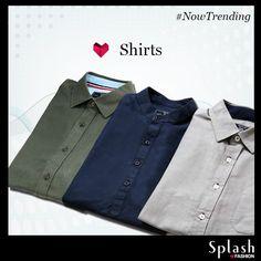 Dapper clothing for stylish men from Splash!  #Splash #Fashion #SplashIndia