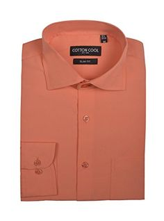 Cotton Cool Men's Slim Fit Solid Non-Iron Long Sleeve Dre... https://www.amazon.com/dp/B01LW072YV/ref=cm_sw_r_pi_dp_x_kxIkyb016NN2P