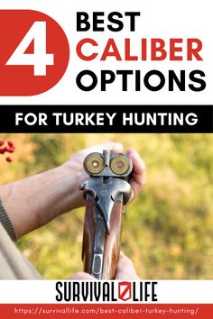 Now that turkey hunting season is nearly upon us, it's time for you to think about which type of weapon that you are going to use for your next hunting trip. Choosing a caliber for turkey hunting is especially important if you are a beginner to this sport in general. #survivallife #survival #preparedness #survivalist #prepper #hunting #turkeyhunting #turkey #springhunting #spring Survival Life, Survival Skills, Turkey Hunting Season, Hunting Stuff, Guns And Ammo, Emergency Preparedness, Weapon, Kit, Type
