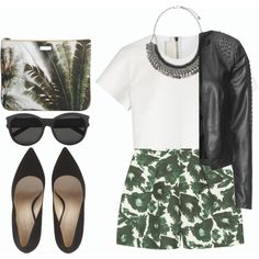 #172 by vilte-m on Polyvore featuring Neil Barrett, Zizzi, Mother of Pearl, Mauro Grifoni, Pieces and Yves Saint Laurent