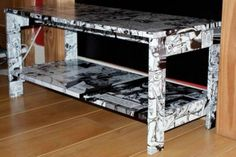 Personalise your furniture with cartoon sticky vinyl from www.vinylwarehouse.co.uk