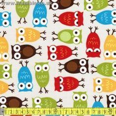 Urban Zoologie Owls Bermuda $3.00