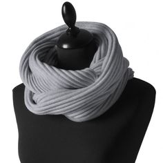 Design House Stockholm Silver Grey Pleece Snood available from Hus & Hem.   Fashion fades, only style remains the same. Created in 1997 by Marianne Abelsson, Design House Stockholm's pleece snood has changed very little over the years. The colours change slightly as the seasons come and go. But it's still based on the same timeless simplicity and quality that never goes out of style. The fabric is still pleated in Borås, Sweden.