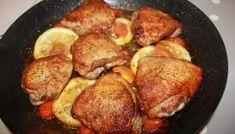 Kylling med sitron og tomat Frisk, Shrimp, Pork, Pasta, Chicken, Meat, Pork Roulade, Beef, Pigs