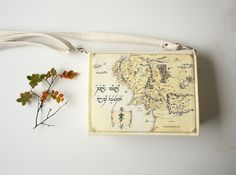Map of Middle Earth Book Purse Beige Faux Leather Book Bag by krukrustudio on Etsy https://www.etsy.com/listing/476035170/map-of-middle-earth-book-purse-beige