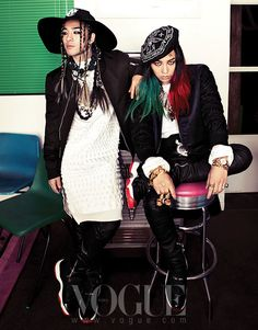 Big Bang G-Dragon and Tae Yang - Vogue Magazine March Issue '13
