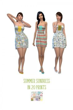 Simsworkshop: Sundress by deelitefulsimmer • Sims 4 Downloads